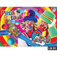 Patati Patatá Painel 3,7m² Lona Banner Aniversario Decoração