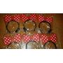 12 Tiaras Minnie Vermelha Pisca .brinque Promoção