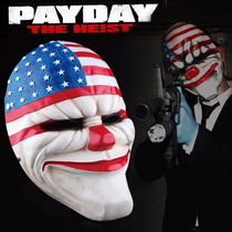 Máscara Payday 2 Cosplay Palhaço Carnaval