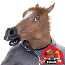 Máscara Cabeça De Cavalo Original Em Latex Creepy Horse Mask
