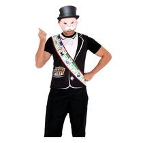 Fantasia Jogo Monopoly Adulto Masculino Envio Em 24h