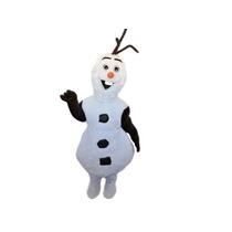 Fantasia Olaf,pelucia,animação,frozen,elsa,anna,mascote