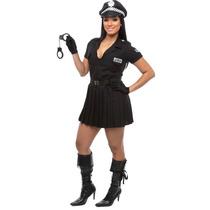 Fantasia De Policial Feminina Adulto, Frete Gratis