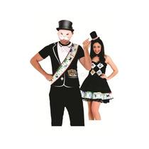Fantasia De Casal Monopoly Masculino E Feminino Para Festa