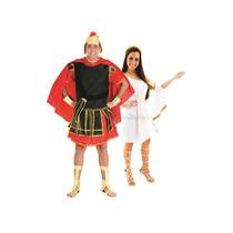 Fantasia De Casal Grego Para Festa Grecia Antiga P/entrega
