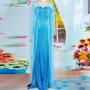 Fantasia Princesa Elsa Frozen Adulto E Peruca Pronta Entrega