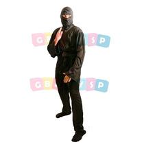 Roupa De Ninja Masculina Adulto - Fantasia Guerreiro Cosplay
