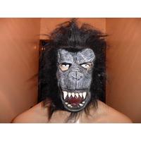Máscara Fantasia Festa Halloween....adereço,festa Chimpanzé