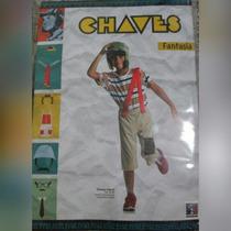 Fantasia Chaves Retrô G 10 A 12 A. Prod. Licenciado Original