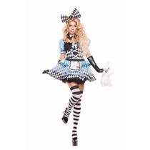 Fantasia Alice - Alice No País Das Maravilhas - Frete Grátis