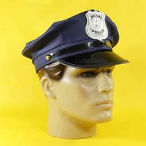 Quepe Policial Azul / Quepe Militar De Policial