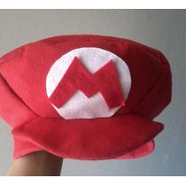 Fantasia Boina Super Mario Bros! Pronta Entrega!
