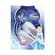Kit Sapatinho De Cristal Cinderela Disney Original Rubies