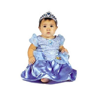 Fantasia Cinderela Baby Bebe Roupa Pp 1 Ano Princesas