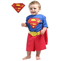Fantasia Superman M 6 A 8 Anos Infantil Carnaval Marvel Thor