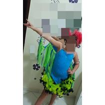 Fantasia Infantil Carnaval Filme Rio Tam 10 A 14