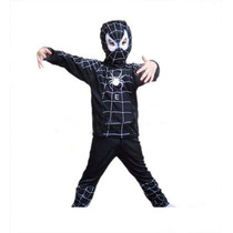 Roupa Fantasia Infantil Venom Spider Man Homem Aranha Tam. P
