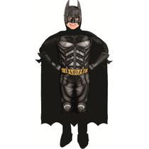 Fantasia Batman Infantil De Luxo Dark Knight Ressurge