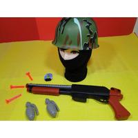 Fantasia Policial Sniper Americano Balaclava Capacete