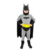 Fantasia Batman Infantil Longo Tam M (6 - 8 Anos)