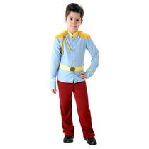 Fantasia Príncipe Infantil Luxo Sulamericana