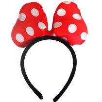 Fantasia Saia Tiara Laco Festa Carnaval Minnie Mouse