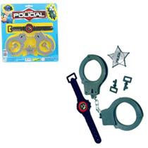 Kit Policial Brinquedo Infantil Com 3 Peças Frete Grátis