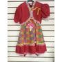 Vestido Infantil Festa Junina Tamanho 12