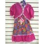 Vestido Infantil Festa Junina Tamanho 14