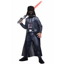 Fantasia Darth Vader Infantil Luxo Licenciado Rubies