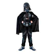 Fantasia Infantil Longa Darth Vader Starwars Original Disney