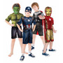 Fantasia Vingadores 2- Hulk, Capitão América, Thor, Iron Man