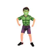 Fantasia Infantil Hulk Vingadores 2 Curta Tam. M.