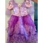 Fantasia Da Princesa Rapunzel Luxo Importada Disney