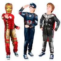 Fantasia Capitão América, Thor, Iron Man A Era De Ultron