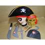 Fantasia Caveira Espada Chapeu Pirata Caribe Jack Sparrow