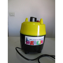 Compressor Para Balões E Bolas (inflador Para Bexigas)