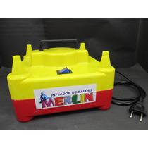 Inflador, Bomba P/baloes Bexigas, Compressor- Frete Gratis