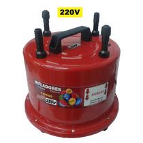 Inflador Balões Bexigas 4 Bicos Profissional 1300 W 220volts