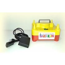Inflador, Bomba P/bexigas, Compressor + Pedal De Acionamento