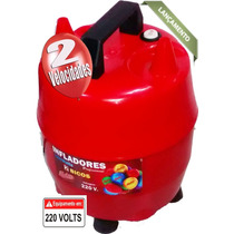 Inflador De Balões 2 Bicos E 2 Velocidades 220.volts 1300w
