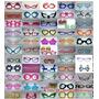 30 Oculos Sortidos + 100 Pulseiras De Neon + Frete
