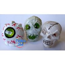 Kit Halloween - Anel, Teia Aranha, Bandeirola, Chapéu