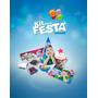 Kit Festa Infantil Personalizado C/ Foto Da Criança Em Tudo!