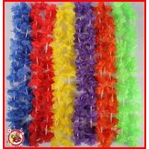 Kit 350 Colares Havaianos Tecedio + 500 Pulseiras Neon