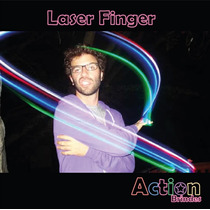 40 Leds De Dedo - Laser Finger Beams - Anel De Luz Para Dedo