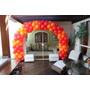 Kit De Coluna Arco Desmontável Tdb + Base P/ Suporte Balões