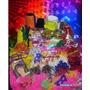 Kit Balada Com Piscas,neon,300 Itens+frete Grátis+brindes