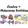 Kit Festa 30 Óculos + 30 Máscara Sortida - Balada, Casamento