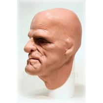 Máscara De Espuma Latex Realista Profissional Se Molda Frank